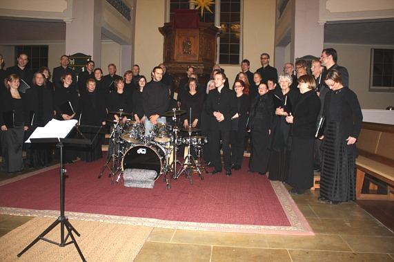 Erlangen Nov.2013 Chor mit Benni, Andreas kl