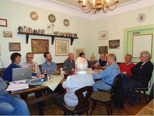STUB Diskussion im Distriktkl