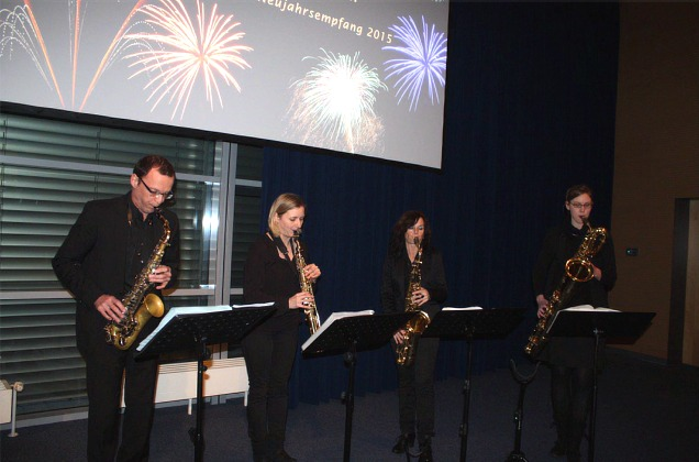 Neujahrsempfang Saxophonix